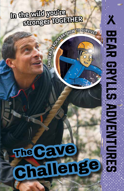 Bear Grylls Adventures: The Cave Challenge book cover