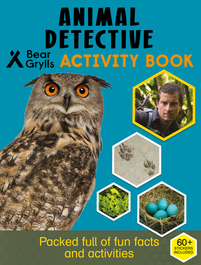 Animal Detective Activity Book cover
