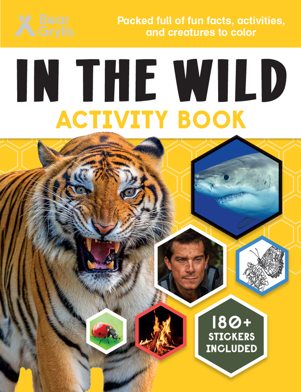 In the Wild Activity Book cover