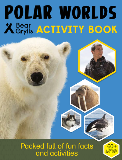 Polar Worlds Activity Book cover