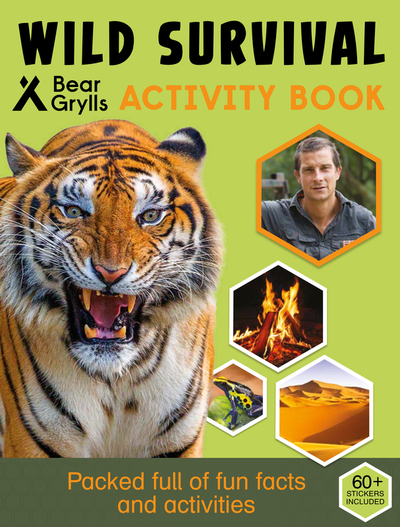 Wild Survival Activity Book cover