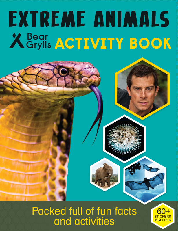 Extreme Animals Activity Book cover