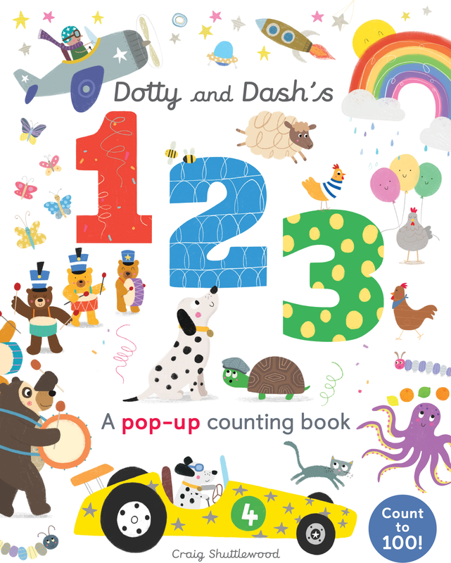 Dotty and Dash's 1 2 3 book cover